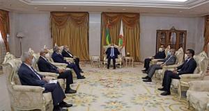 Lamamra recu a Nouakchott par le President mauritanien