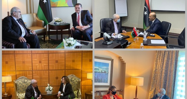 Lamamra en Libye