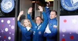 Une équipe russe dans l'espace pour tourner le premier film en orbite