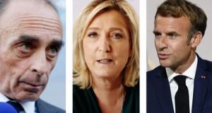 Zemmour-Le Pen-Macron
